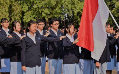 Peringatan Hari Pahlawan Sekaligus Pelantikan Pengurus OSIS dan MPK SMK Damos
