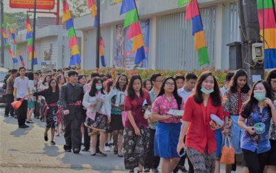 Kemeriahan Damos di Puncak Hari Pangan Sedunia 2019
